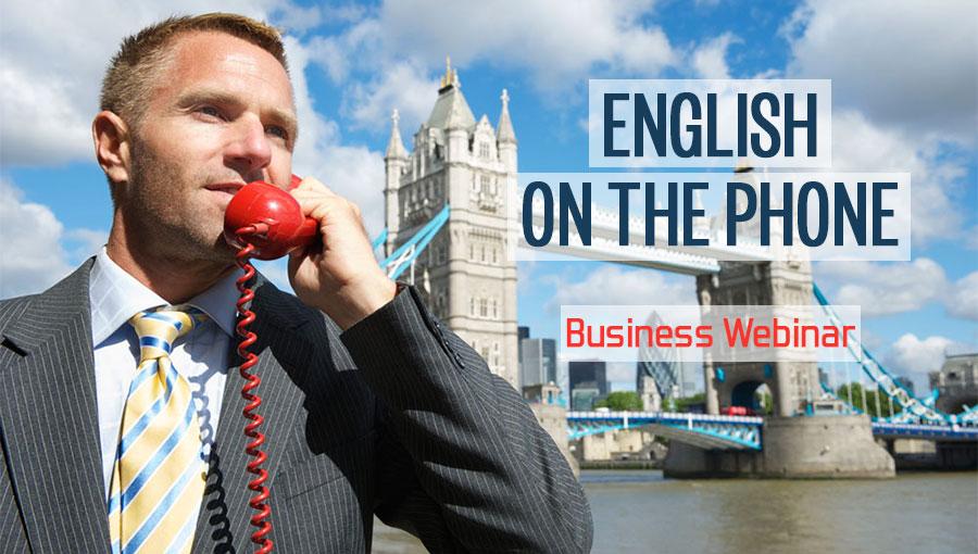 inglese al telefono